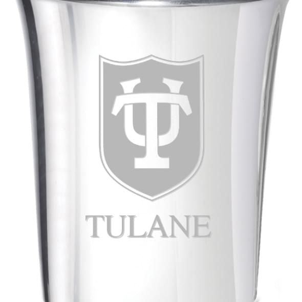 Tulane Pewter Jigger - Image 2