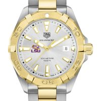 LSU Men's TAG Heuer Two-Tone Aquaracer