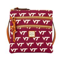 Virginia Tech  Dooney & Bourke Triple Zip Bag