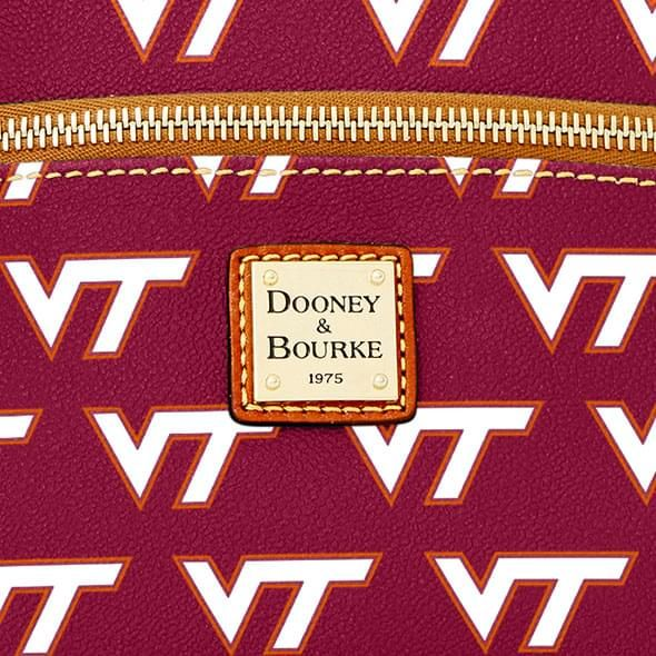 Virginia Tech  Dooney & Bourke Triple Zip Bag - Image 2