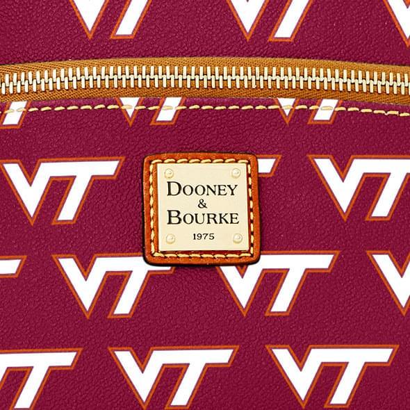 Virginia Tech  Dooney & Bourke Triple Zip Bag - Image 2