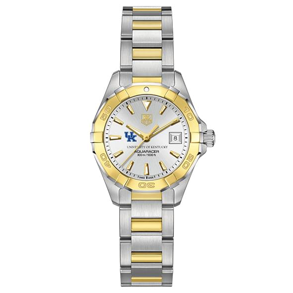 Kentucky Women's TAG Heuer Two-Tone Aquaracer - Image 2