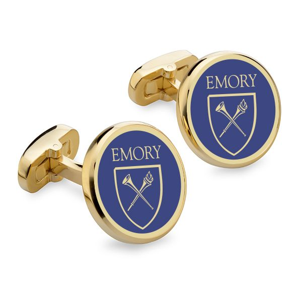 Emory Enamel Cufflinks