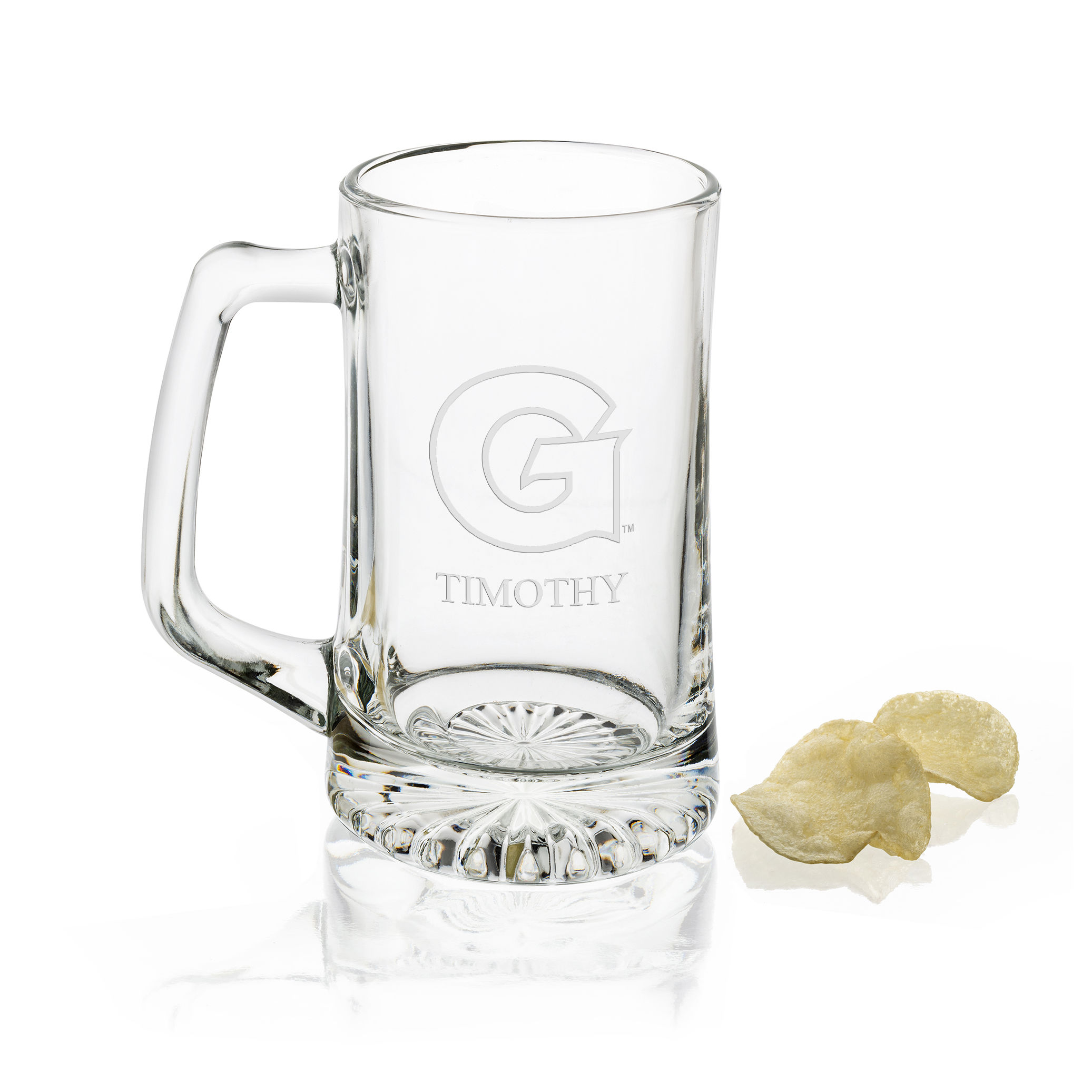 Georgetown Glass Stein
