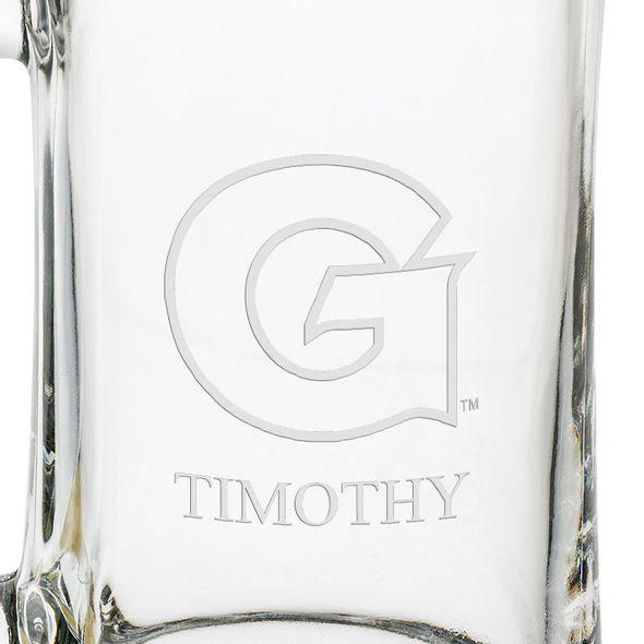 Georgetown Glass Stein - Image 3