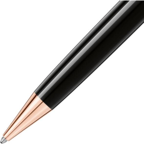 Georgetown University Montblanc Meisterstück LeGrand Ballpoint Pen in Red Gold - Image 3