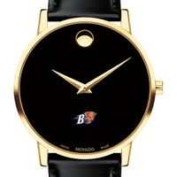 Bucknell Men's Movado Gold Museum Classic Leather