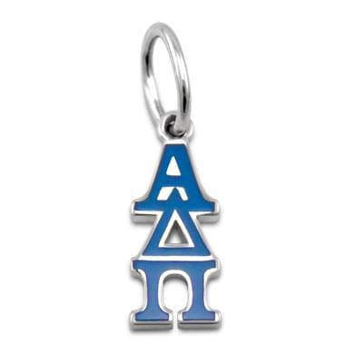Alpha Delta Pi Greek Letter Charm