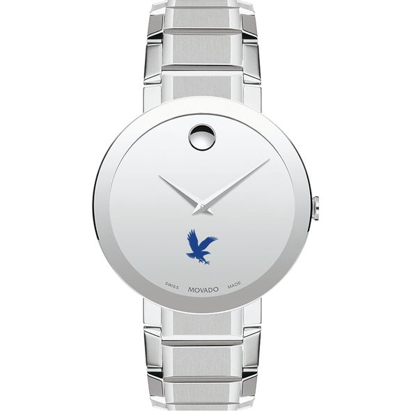 Embry-Riddle Men's Movado Sapphire Museum with Bracelet - Image 2