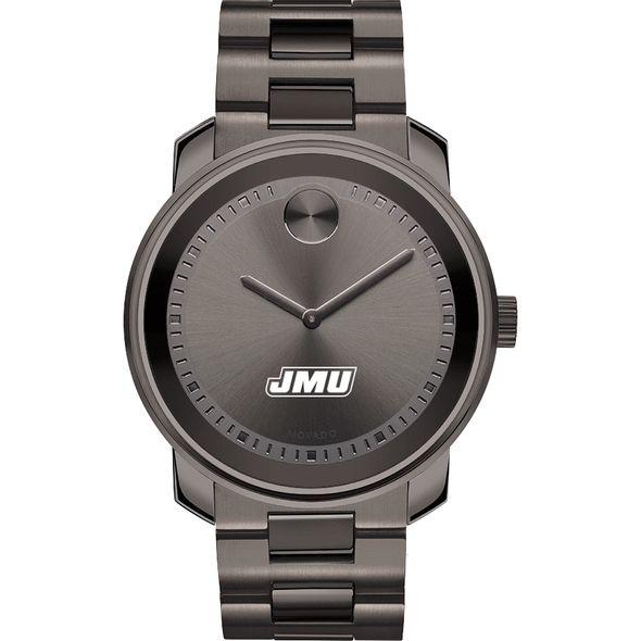 James Madison University Men's Movado BOLD Gunmetal Grey - Image 2