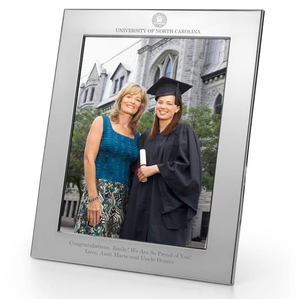 UNC Polished Pewter 8x10 Picture Frame - Image 2
