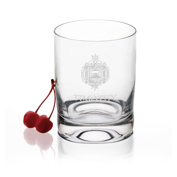 US Naval Academy Tumbler Glasses - Set of 4