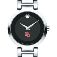 Boston University Women's Movado Museum with Steel Bracelet