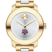 Texas A&M Women's Movado Two-Tone Bold