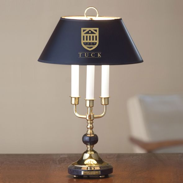 Tuck Lamp in Brass & Marble - Image 1
