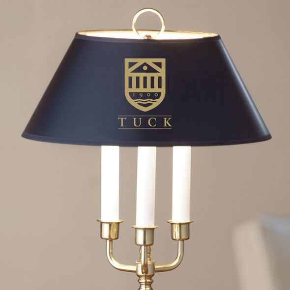Tuck Lamp in Brass & Marble - Image 2