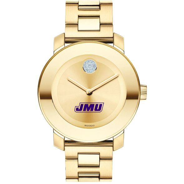 James Madison University Women's Movado Gold Bold - Image 2