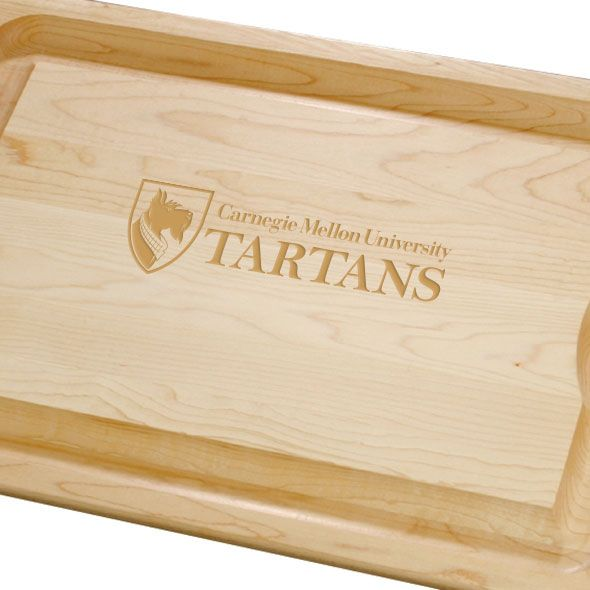 Carnegie Mellon University Maple Cutting Board - Image 2