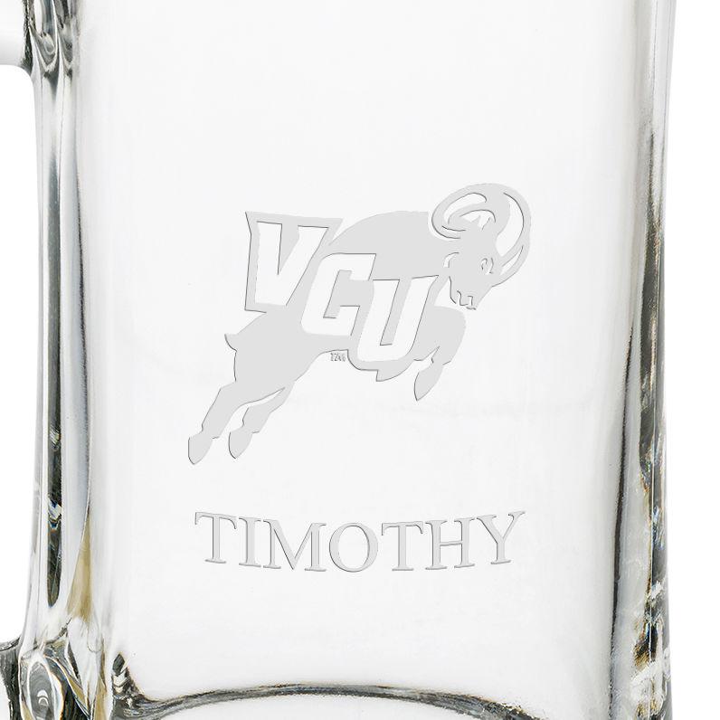 VCU 25 oz Beer Mug - Image 3