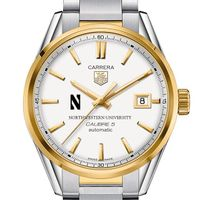 Northwestern Men's TAG Heuer Two-Tone Carrera with Bracelet