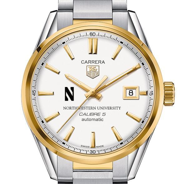 Northwestern Men's TAG Heuer Two-Tone Carrera with Bracelet