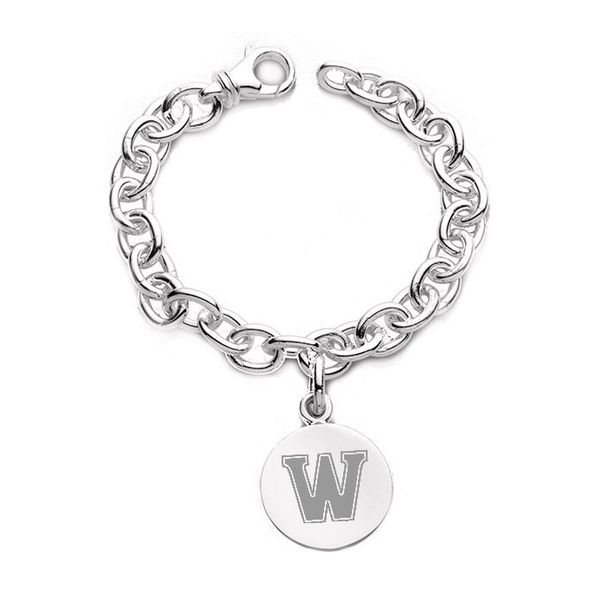 Williams College Sterling Silver Charm Bracelet
