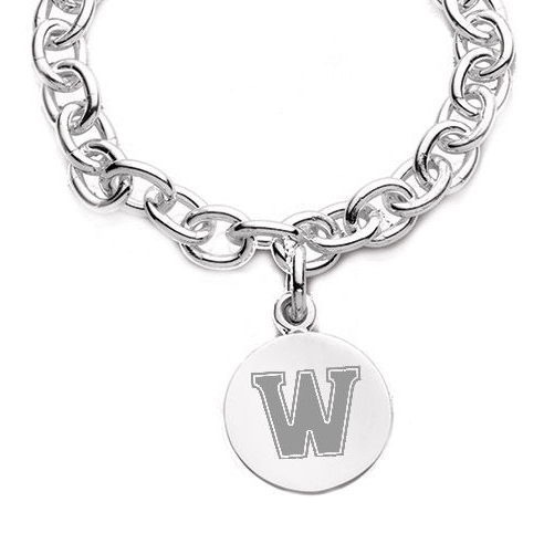 Williams College Sterling Silver Charm Bracelet - Image 2