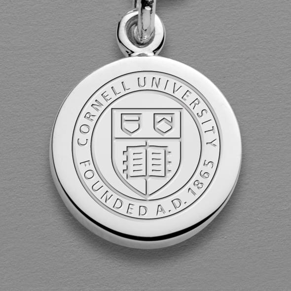 Cornell Sterling Silver Individual Charm