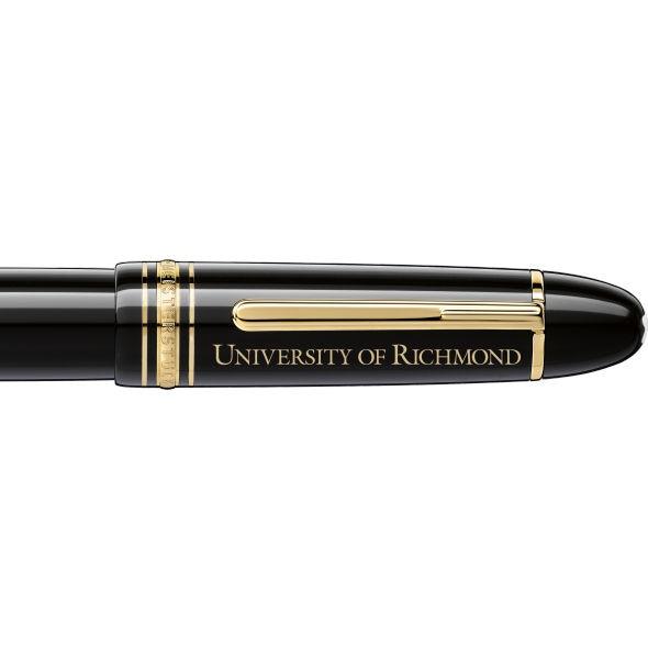 University of Richmond Montblanc Meisterstück 149 Fountain Pen in Gold - Image 2