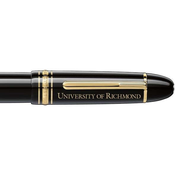 University of Richmond Montblanc Meisterstück 149 Fountain Pen in Gold - Image 2