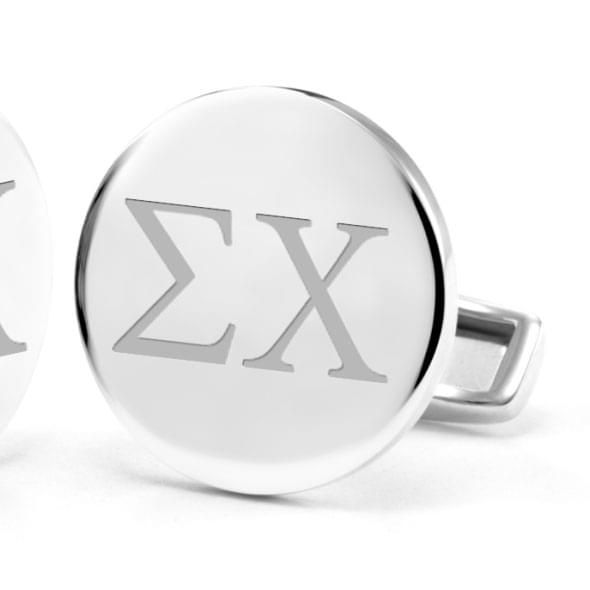 Sigma Chi Sterling Silver Cufflinks - Image 2