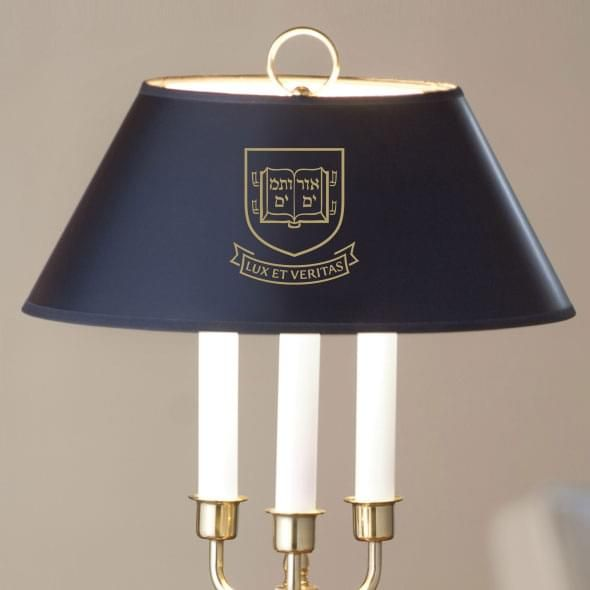 Yale University Lamp in Brass & Marble - Image 2