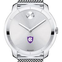 Holy Cross Men's Movado Stainless Bold 44