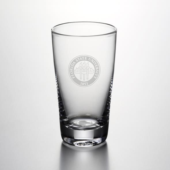 Florida State Ascutney Pint Glass by Simon Pearce