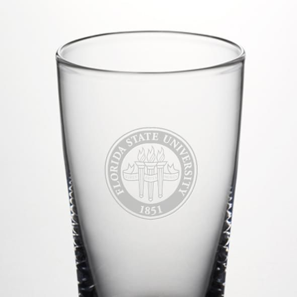 Florida State Ascutney Pint Glass by Simon Pearce - Image 2