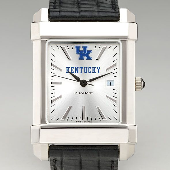 Kentucky Men's Collegiate Watch with Leather Strap