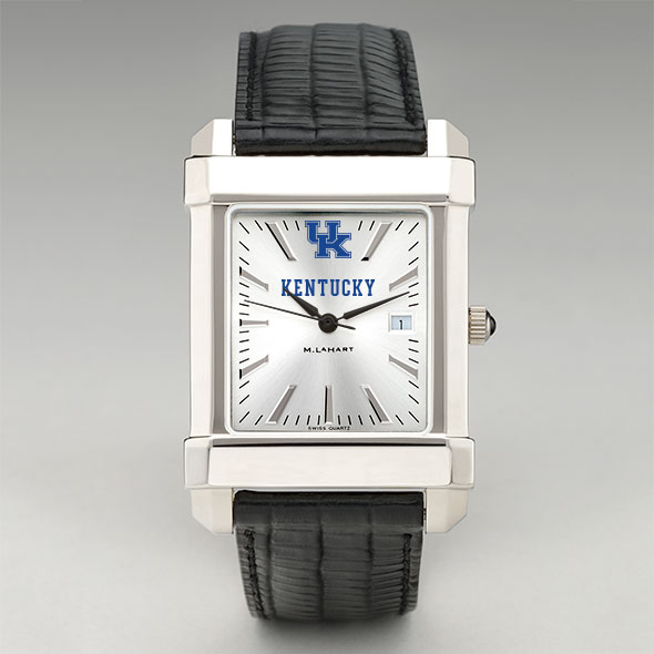 Kentucky Men's Collegiate Watch with Leather Strap - Image 2