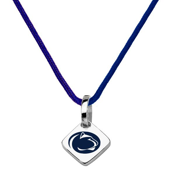 Penn State Silk Necklace with Charm - Image 2