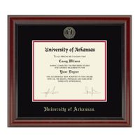 University of Arkansas Bachelors/Masters Diploma Frame, the Fidelitas