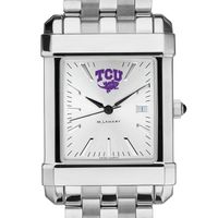 Texas Christian University Men's Collegiate Watch w/ Bracelet