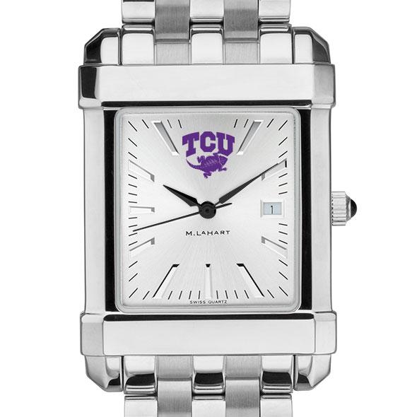 Texas Christian University Men's Collegiate Watch w/ Bracelet