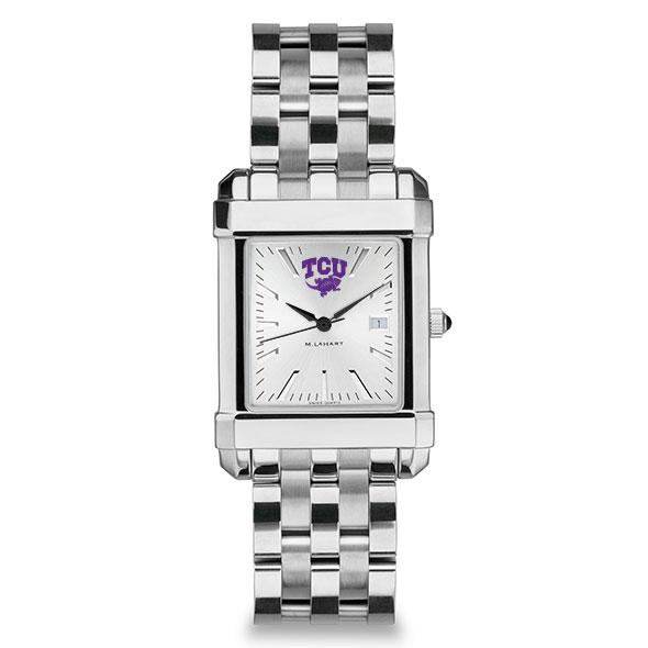 Texas Christian University Men's Collegiate Watch w/ Bracelet - Image 2