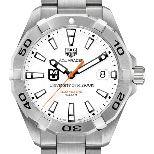 University of Missouri Men's TAG Heuer Steel Aquaracer