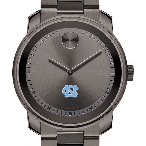University of North Carolina Men's Movado BOLD Gunmetal Grey
