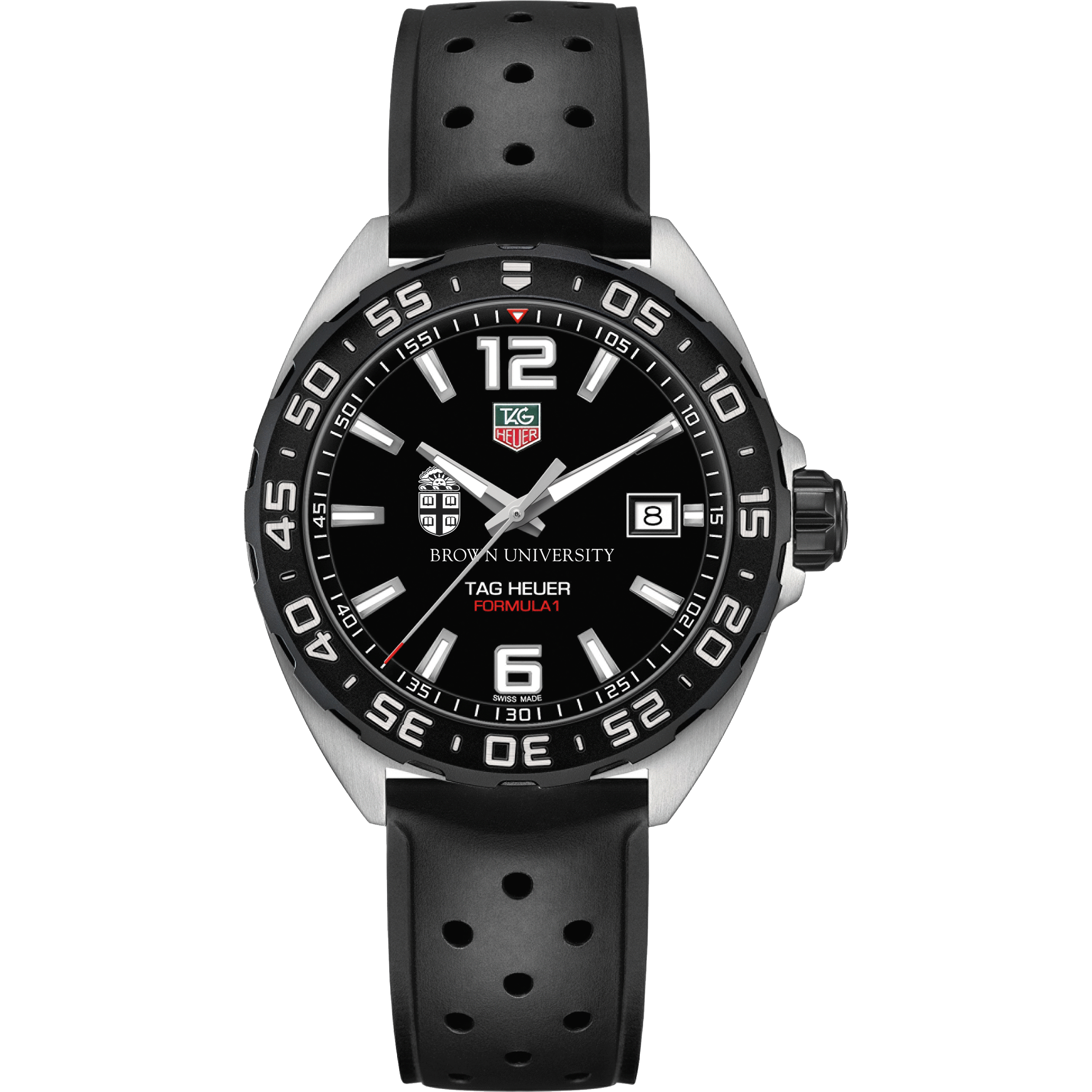 Brown Men's TAG Heuer Formula 1 with Black Dial - Image 2