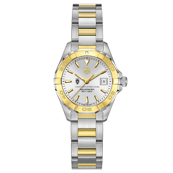 Wisconsin Women S Tag Heuer Two Tone Aquaracer At M Lahart