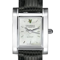 UVM Women's MOP Steel Quad with leather strap