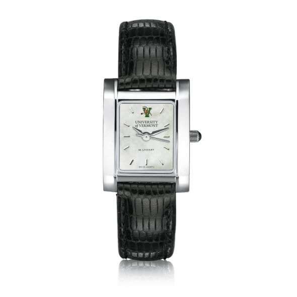 UVM Women's MOP Steel Quad with leather strap - Image 2