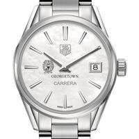 Georgetown University Women's TAG Heuer Steel Carrera with MOP Dial