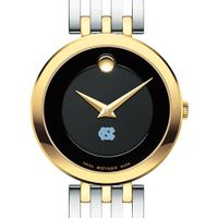 University of North Carolina Women's Movado Esparanza Two-Tone Museum with Bracelet